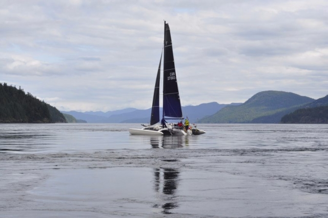 race to alaska, r2ak, seymour narrows, daphne stuart, team 3 1/2 aussies