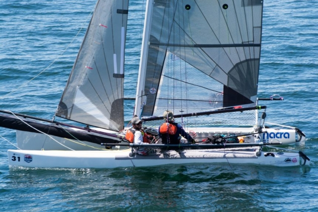race to alaska, r2ak, victoria, david tasker, team ketch me if u can, nacra