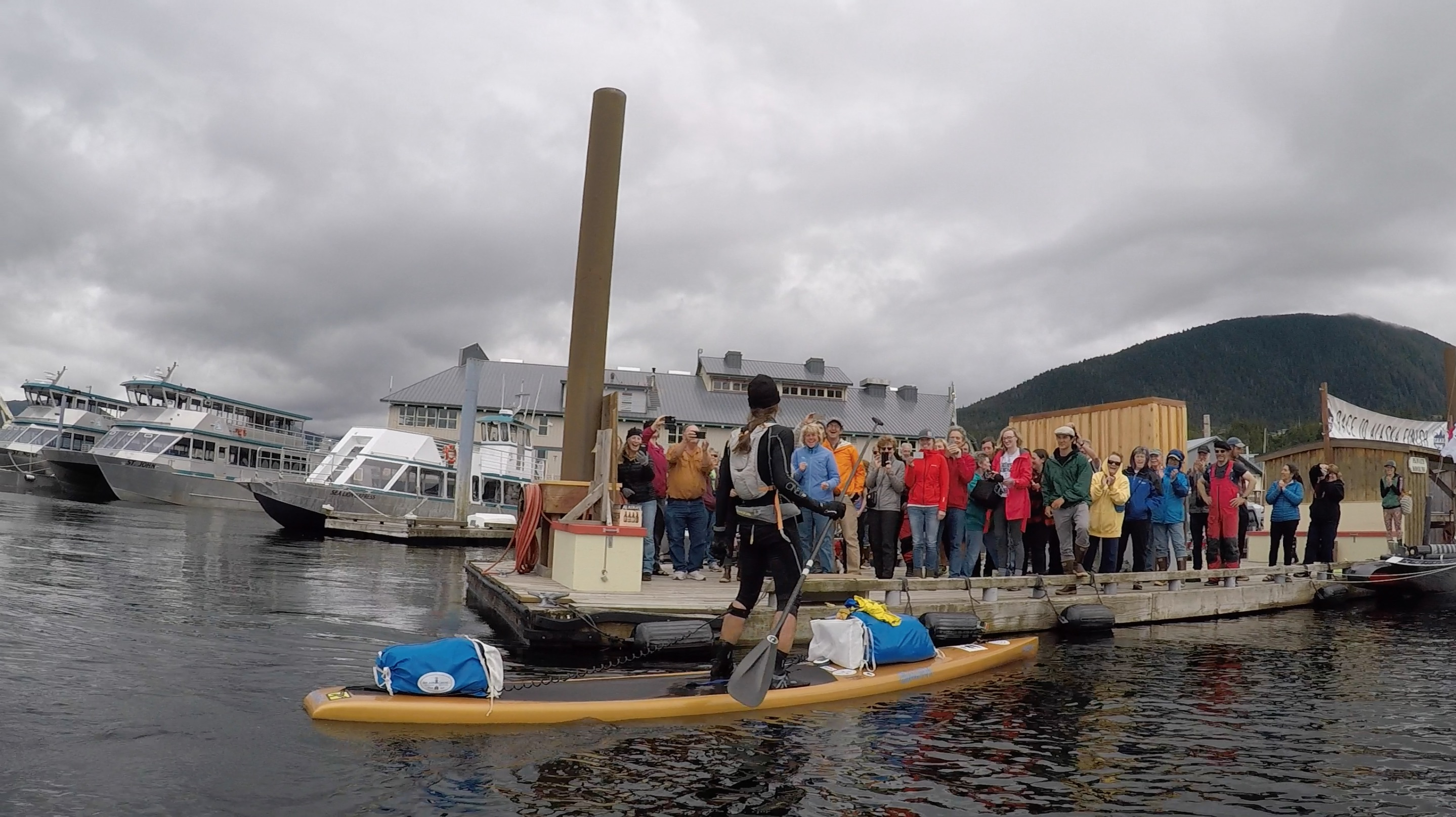 race to alaska, r2ak, Ketchikan, karl kruger, team heart of gold, zach carver