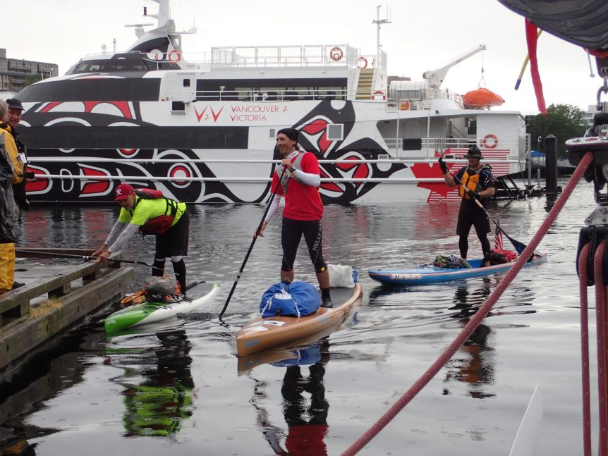 race to alaska, r2ak, victoria, SUP, team heart of gold, team torrent, team tacoma and the sea, ashlyn brown