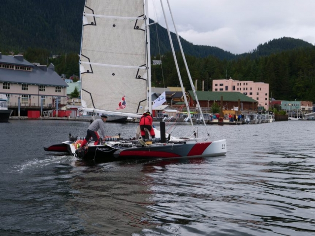 race to alaska, r2ak, Ketchikan, team phocoena, zach carver
