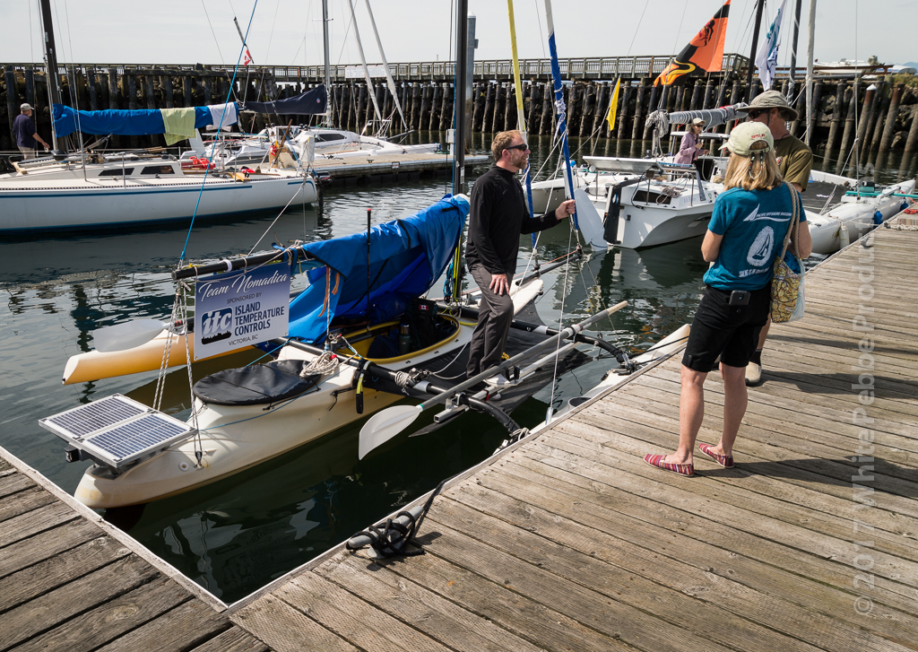 r2ak, team nomadica, race to alaska, port townsend, gill bahnsen