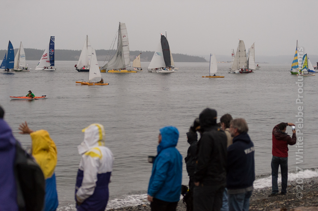 race to alaska, r2ak, port townsend, gill bahnsen, race start
