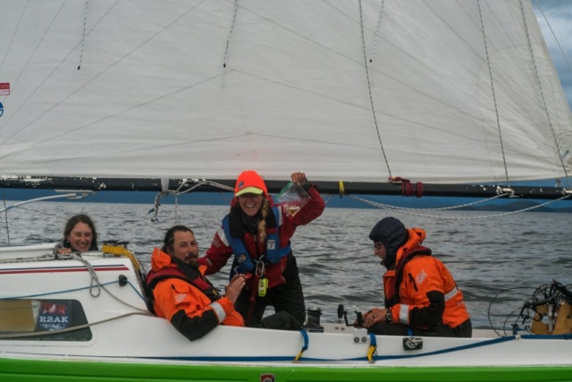 r2ak, race to alaska, team global, emily silgard, liv von oelreich