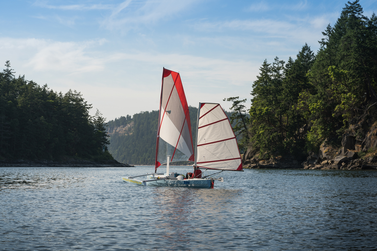 r2ak, race to alaska, team kairos, liv von oelreich, dodd narrows