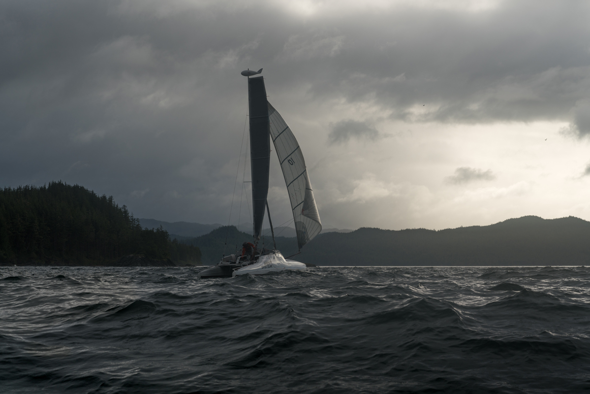 r2ak, race to alaska, team pt watercraft, liv von oelreich, port hardy
