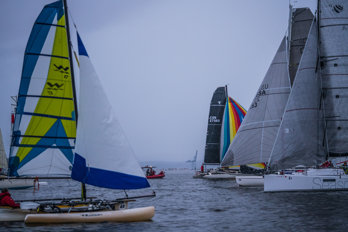 r2ak, race to alaska, liv von oelreich, sailing, port townsend