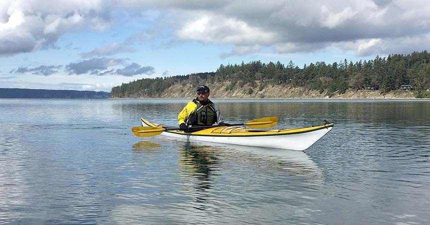 Team Arm & Leg R2AK 2019 kayak