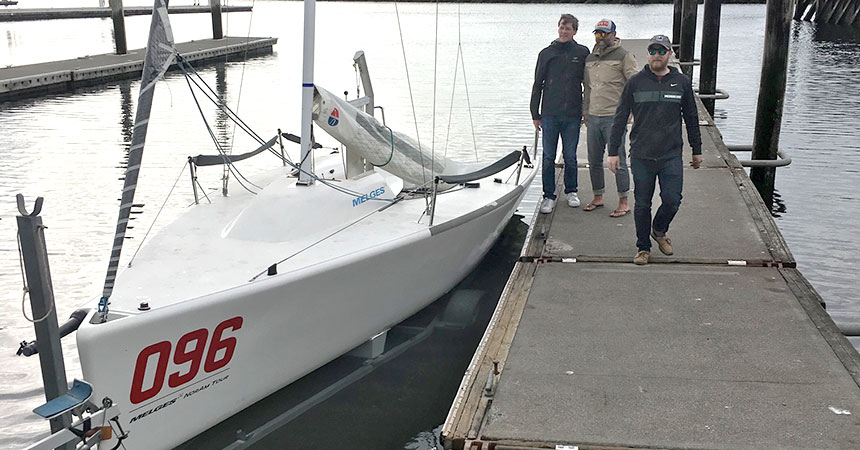 Team Barbarossa Race to Alaska 2019